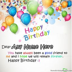 Write Name On Beautiful Colors Happy Birthday Wishes With This Is The Best Idea
