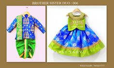 lehenga sherwani combinations for brother sister from yahvi 7