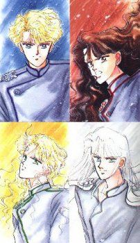 The Four Generals - originally the guardians of Endymion, led astray during the Silver Millennium, serving Queen Beryl