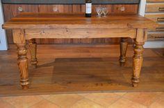 falegnameria bensi....tavolo in abete antico