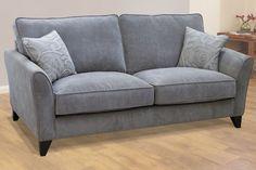 Buoyant Fairfield Gace Grey 3 Seater Sofa | Saso.co.uk