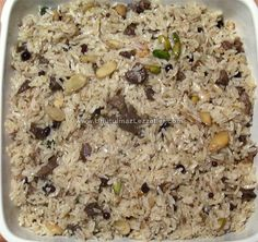 Rice Dishes, Main Dishes, East Dessert Recipes, Turkish Recipes, Ethnic Recipes, Middle Eastern Recipes, Mediterranean Recipes, Food Design, Meat Recipes