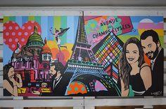 Arte contemporânea - Artista Lobo Pop Art #popart #arte #quadro