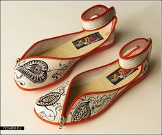 Zipper shoes