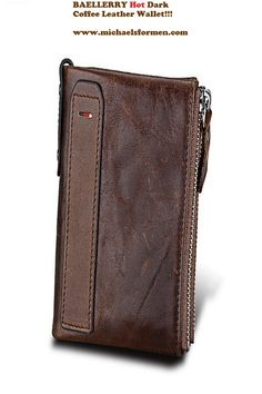e0d20bdcc554 Crazy Horse Genuine Leather Men s Wallet with Card Holders