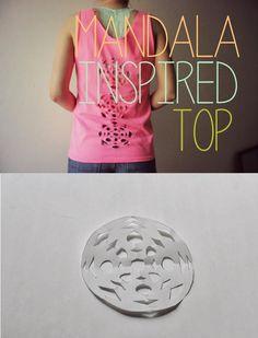 Diy Camiseta con Dibujo Mandala - enrHedando