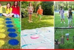 Vous manquez d'idées pour amuser les enfants cet été ? Voici 21 jeux très simples à bricoler...