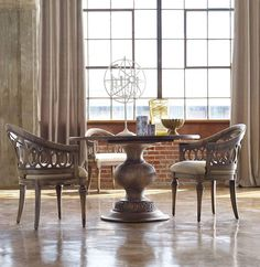 Tons of items are available through special order! Talk to our designers to find the perfect dining set for you! #browninteriors #interiorsdesign #contactstore #homedecorations #shopfurniture