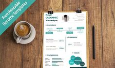 30 Free Printable Resume Templates 2017 to Get a Dream Job