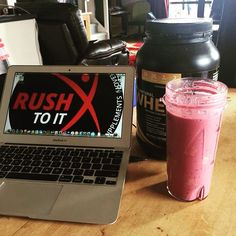 Rush To It shared this morning their favourite way to have their Limitless 100% Natural Whey; in a shake with berries and bananas. What's your favourite way to use your protein?! Let us know below