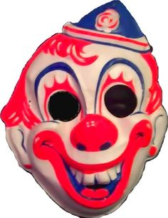 Scariest.  Vintage. Halloween. Mask. EVAR!