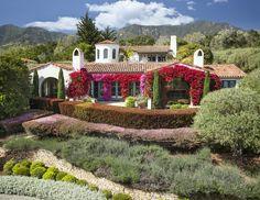 Spanish Home Design. Beautiful Spanish Home #SpanishHomes
