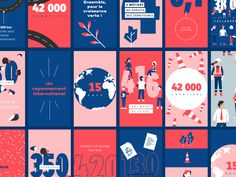 Eurovia — Annual Report by Victoire Douy - Dribbble Annual Report Layout, Annual Report Covers, Annual Reports, Web Design, Layout Design, Header Design, Magazine Ideas, Magazine Design, Editorial Layout