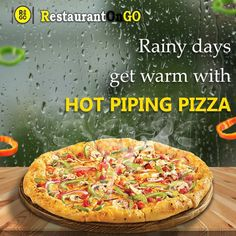 """In winter pizza really makes body warm and tummy full. Just order on """"restaurantongo"""" app and get delivered in 45min. Download or update """"restaurantongo"""" app for pizza category. #food #deliveryfood #orderfoodonline #restaurantongo #lunch #tiffin #eatery #restaurant #dinner #pizza Order Food Online, Body Warmer, How To Get Warm, Pizza, Lunch, Restaurant, App, Dinner, Dining"""
