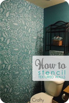How to Project: #Stencil Beautiful Textured Walls