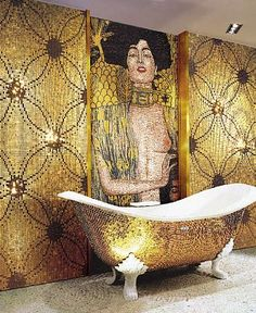 WOW...Gustav Klimt inspired!