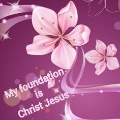 1 Corintians 3:11  For no one can lay any foundation other than the one already laid, which is Christ Jesus.