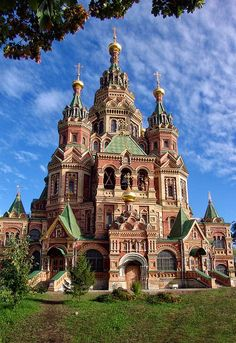 ~Peter and Paul Cathedral, Russia~