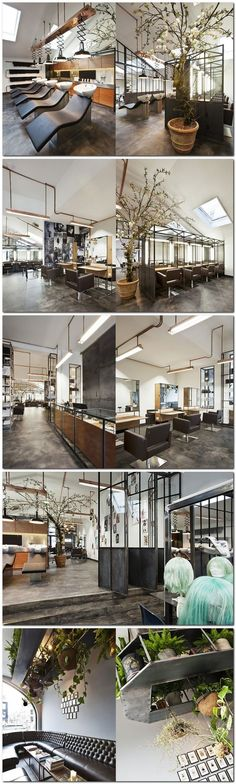 Mogeen hair salon, Amsterdam #peluqueria #hairsalon: