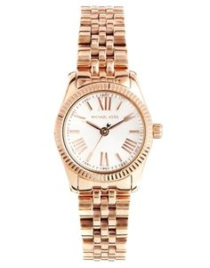 Michael+Kors+Mini+Lexington+Rose+Gold+Watch