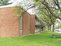 Spartan Village MSU side view