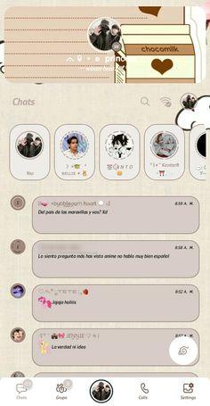 Whatsapp Theme, Whatsapp Plus, Aesthetic Names, Ios Design, Phone Organization, Emoji Wallpaper, Bts Drawings, Bts Lockscreen, Homescreen