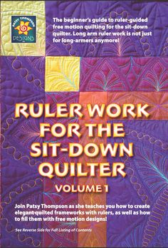Our New Free Motion Quilting DVD is Here!