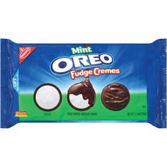 Walmart: Nabisco Oreo Fudge Cremes Mint Sandwich Cookies, oz from Walmart. Saved to Oreo. Sandwich Cookies, Oreo Cookies, Chocolate Cookies, Weird Oreo Flavors, Cookie Flavors, Canned Strawberries, Nabisco Oreo, Oreo Thins, Oreo Fudge