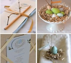 bird nest themed baby shower - Google Search
