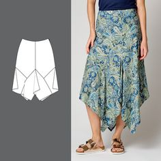 Langt skjørt med spisser Waist Skirt, High Waisted Skirt, Ballet Skirt, Skirts, Fashion, Moda, High Waist Skirt, Tutu, Skirt