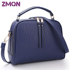 Two Zipper Women Crossbody Bags For Women Small Handbags Leather Famous Brand Fashion Women Messenger Shoulder Bag Wholesale 505
