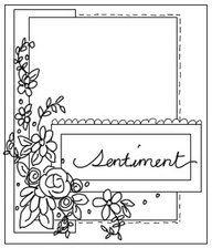 Sketch: May Card Sketch