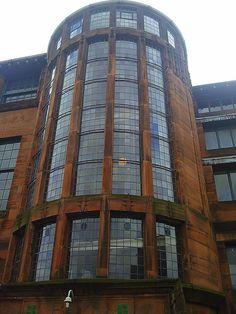 Scotland Street School in Glasgow, designed by Rennie Mackintosh.