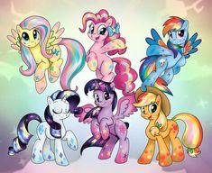 Best finale yet! MLP(C)Hasbro / Character Designs by Lauren Faust Rainbow Power My Little Pony Twilight, My Little Pony Comic, My Little Pony Pictures, Random Pictures, Manado, Backyard Water Parks, Celestia And Luna, My Little Pony Wallpaper, Little Poni