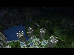 Minecraft Castle Town Updated