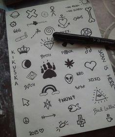 drawing, black, and grunge Bild