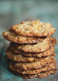 That's right, you read the title correctly—potato chip lace cookies. Admittedly this sweet and salty update to the classic lace cookie was inspired my