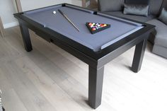 Oak E4 With Hainsworth Smart Silver Cloth Www.Luxury Pool Tables.co