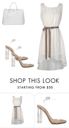 """""""Summertime!"""" by fashion-designer-alyare ❤ liked on Polyvore featuring YEEZY Season 2 and Prada"""