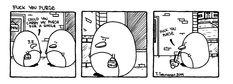 Relationship Drama - Pena The Unholy - fuck you purse Dark Art Illustrations, Illustration Art, Cute Penguins, Comic Art, Drama, Relationship, Purses, Humor, Comics