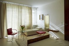 Grete's bedroom at Mies van der Rohe's Villa Tugendhat