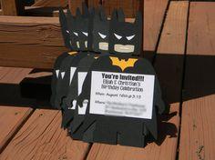 Lego Batman Invitations  Set of 10 by CreativeCoupleDnT on Etsy, $20.00 #legobatman