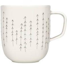De Sarjaton mok van Iittala is geïnspireerd op het Finse leven. Dit komt terug in de motieven op de mokken en de prachtige kleurtinten. De mokken zijn gemaakt van hoogwaardig porselein en hebben een ruime inhoud zodat je lang geniet van je kop thee.