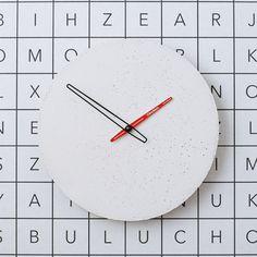 Betonové hodiny nástěnné - Clockies 1703