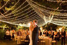 Love stringy lights!