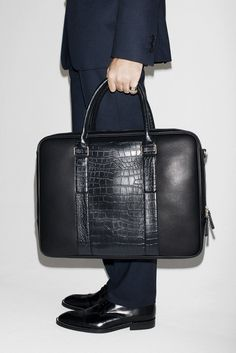 leather laptop case August - Man - Lookbook - ZARA United States