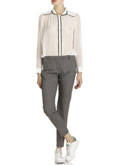 Pablo  http://pablo.placedestendances.com/en/collection-pablo/clothing-women-fashion/tunic-shirt/dotted-swiss-muslin-shirt/white/product,1308434,1308435