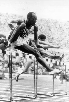 Harrison Dillard USA won the 110 metres hurdles at the 1952 Helsinki Olympic Games Olympic Athletes, Olympic Sports, Olympic Games, Long Jump, High Jump, Us Olympics, Summer Olympics, Olympic Village, Triple Jump