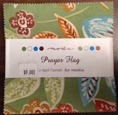 A personal favorite from my Etsy shop https://www.etsy.com/listing/234387690/prayer-flag-by-april-cornell-for-moda