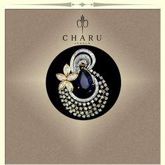 #wedding #collection #pendant #fusion #jewelery #real #diamond #traditional #charu #jewels #elegant #classic #craftsmenship